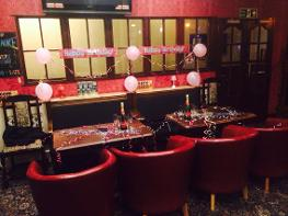 Book your birthday for free at the Borough Free bottle of bubbly & Birthday cake book with 2 weeks notice minimum